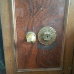 Antique safes, old safe, Skidmore, anti pressure device, pick proof lock, pin key.