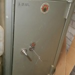 Chatwood Mmilner Safe opened by Alan Morgan Master Locksmiths