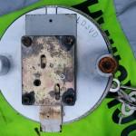 Replacement Churchill safe lid. Domestic door