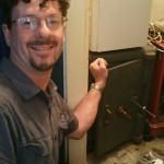 Alan Morgan picking a curtained milner safe lock