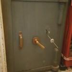 Milner safe cracked by Alan Morgan Master locksmiths