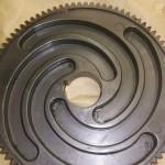 Chubb isolator scroll gear