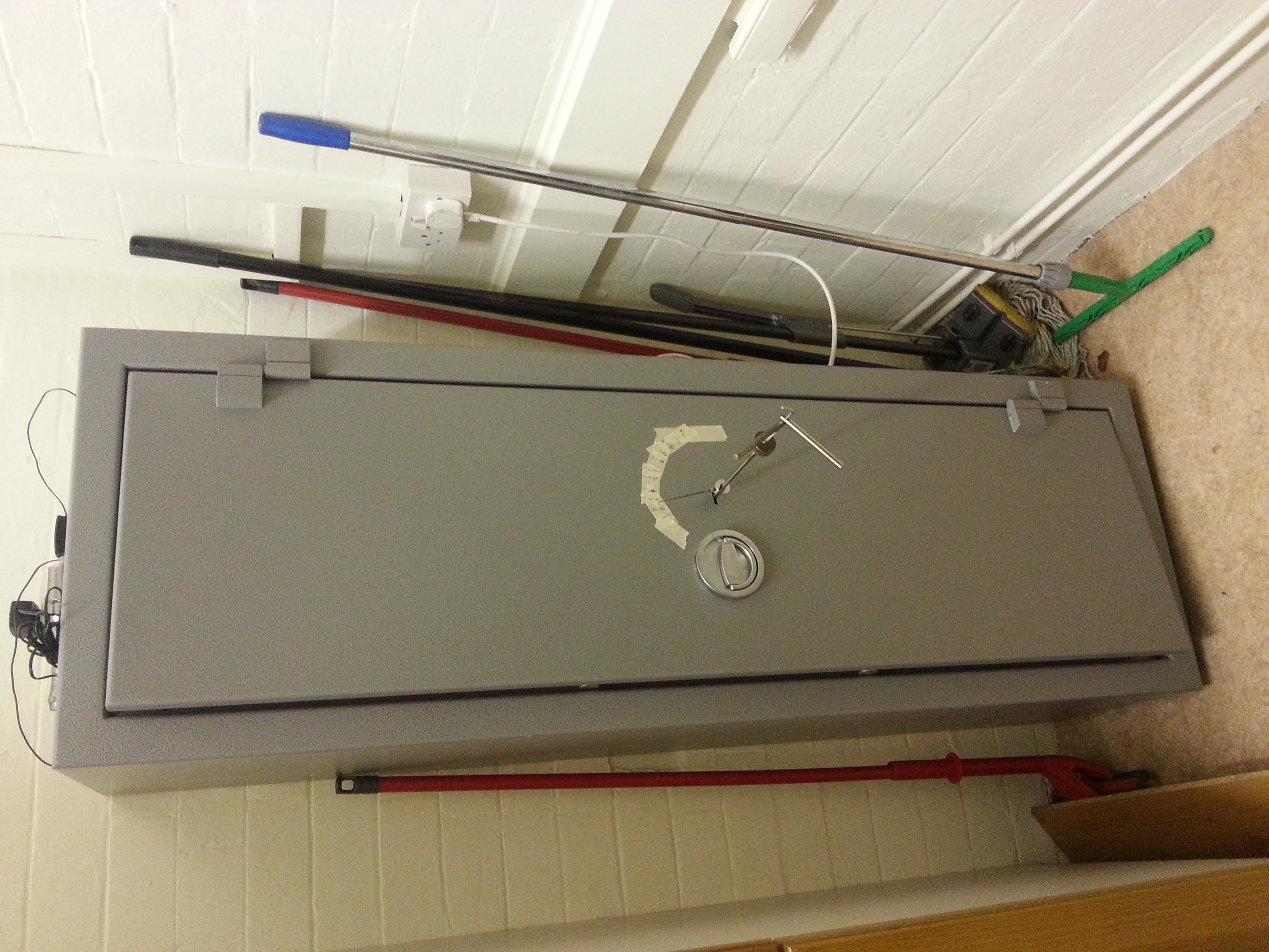 Bratton Sound gun safe opened by Alan Morgan Master Locksmiths in Sheffield