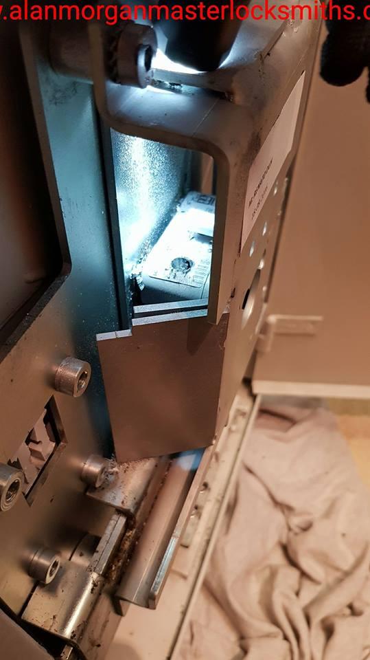 Securikey Polifer Kaba safe opened by Alan Morgan Master Locksmiths in Hull